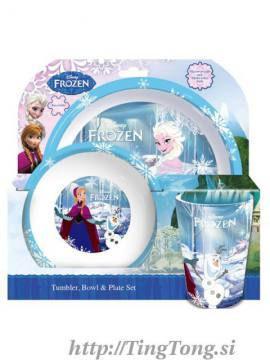 Jedilni Set Disney Frozen 5036