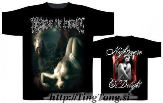 T-shirt Cradle of Filth 12143