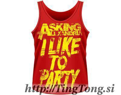 Party Red Vest-Asking Alexandria 12698