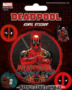 Nalepka Deadpool 13352
