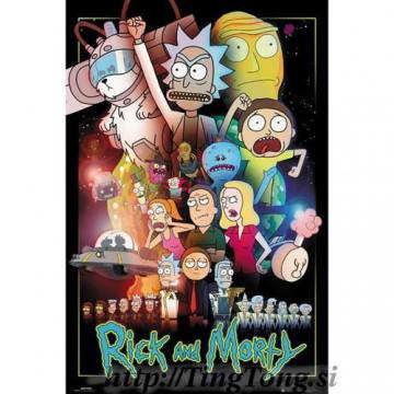 Poster Rick And Morty 18079
