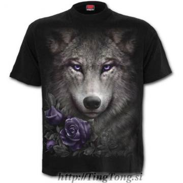 T-shirt Wolf Roses 18503