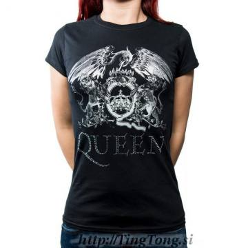 Crest Logo Diamante-Queen 28412
