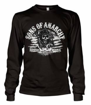 Distressed Flag-Sons Of Anarchy 38725