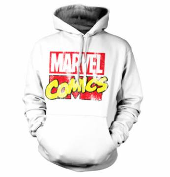 Retro Logo Distressed- Marvel Comics 40381