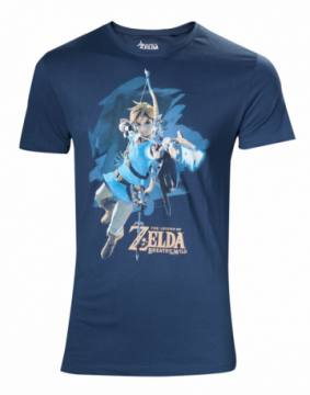 Breath Of The Wild Link Blue-The Legend Of Zelda 40604