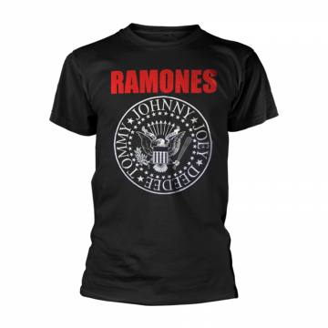 Red Text Seal Logo-Ramones 48913