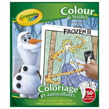 Colour&Sticker- Disney Frozen  54812